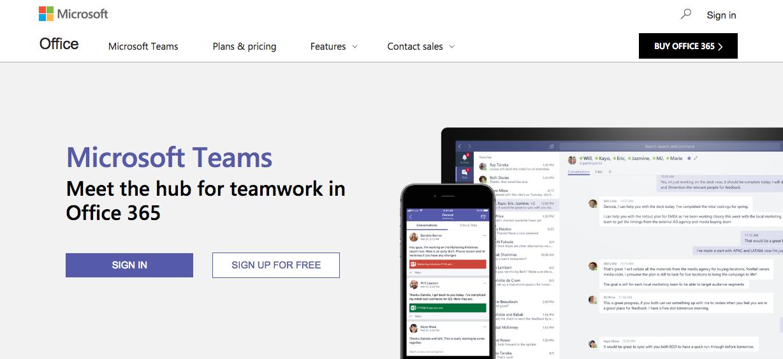 Microsoft Teams -Hipchat alternative
