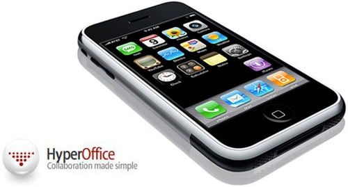 HyperOffice Collaboration for iPhone