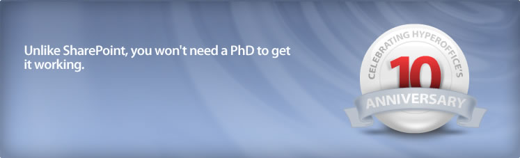 Unlike SharePoint, you won't need a PhD to get it working
