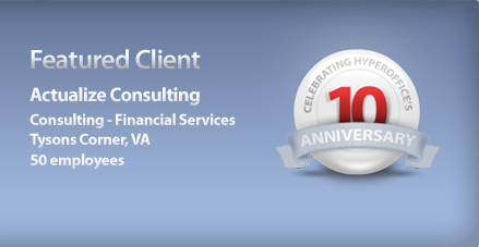 Featured Client: Actualize Consulting