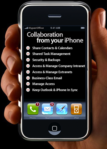 Collaboration from your iPhone