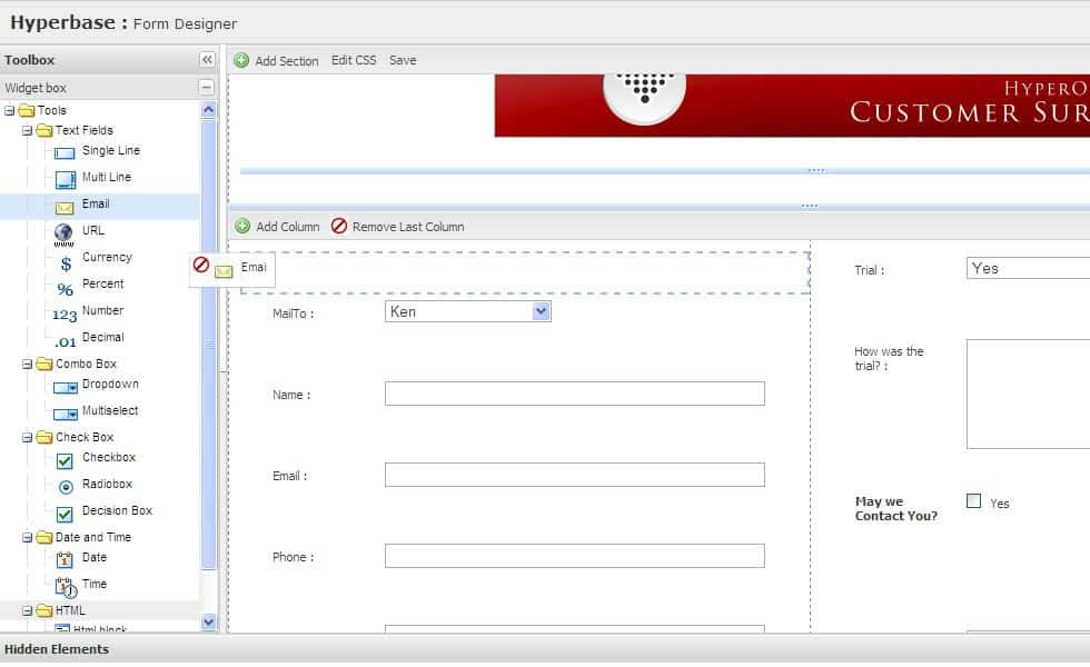 Online forms quickly build web forms webforms made easy for Create a program online