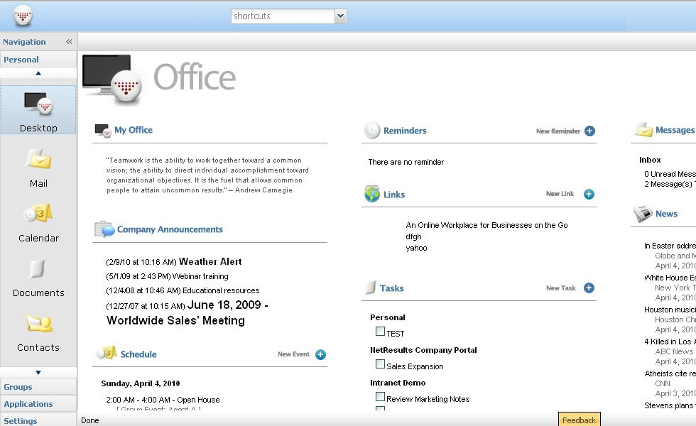 Business instant messaging and announcements software - Office messaging software ...